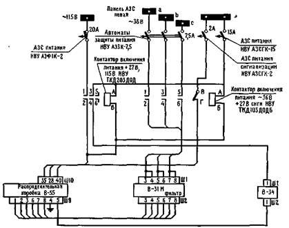Рис9. Схема электропитания